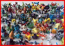 Pokemon Monsters Mini Figure Figurines Toys 48pcs Mixed Lot #US