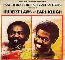 """HUBERT LAWS / EARL KLUGH """"HOW TO BEAT THE HIGH COST OF LIVING"""" SOUL JAZZ LP 1980"""
