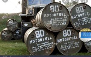 55 Gallon Drum Top Stencil