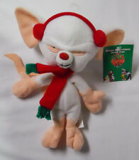 1998 Warner Bros Studio Store Christmas Brain Mini Bean Bag-Beanie