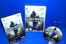 Juego Nintendo WII- CALL OF DUTY modern warfare buen estado Wii