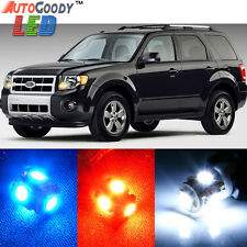 10 x Premium Xenon White LED Lights Interior Package Upgrade for Ford Escape