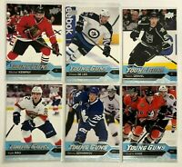 6 Card Lot Young Guns Rookie 2016-17 Upper Deck Kings Ducks Maple Leafs Jets