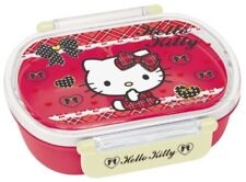 SKATER QA2BA Lunch Box 360mL Bento Hello Kitty Tartan Check