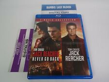 Jack Reacher / Never Go Back [2-Movie Collection](Blu-Ray, 2-Disc, 2012/2016)+HD