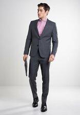 HUGO BOSS ASTIAN/HETS EXTRA SLIM FIT  Suit - Dark Grey - Size UK40R