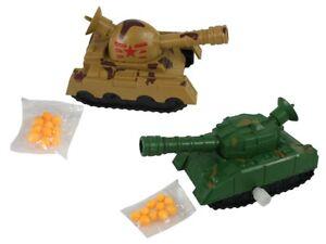 Spielzeug Panzer mit 10 Kugeln zum Aufziehen 215