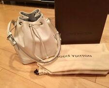 LOUIS VUITTON PETIT NOE IVORY EPI LEATHER DRAWSTRING BUCKET SHOULDER BAG HANDBAG