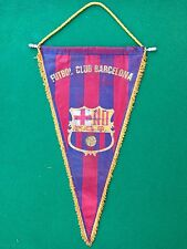 Gagliardetto BARCELONA FCB 44x29 cm , Pennant Fanion Wimpel calcio vintage