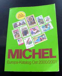 Catalogue MICHEL EUROPE de l'EST 2000 / 2001