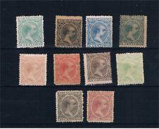 España. 10 sellos nuevos Alfonso XIII tipo Pelón. Valor 823 Euros