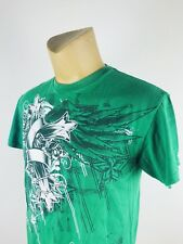 Green Graphic Size L Basic T-Shirt Shirt Sleeve (L)