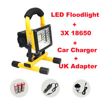 30W LED Floodlight IP65 Outdoor Work Light Security Lamp Rechargeable Charger UK