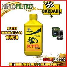 KIT TAGLIANDO 4LT OLIO BARDAHL XTC 10W50 YAMAHA FJR1300 AE 1300CC 2009-2010 + FI
