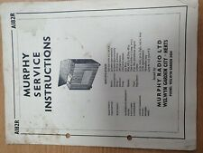 Vintage Manual MURPHY A182R