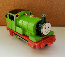 Vintage 1984 Thomas & Friends ERTL Percy No 6 Paper Sticker Face Diecast Train