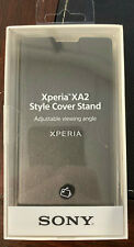 Sony Style Cover Stand for Xperia XA2 (Black) SCSH10 - NEW!