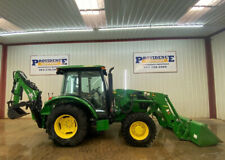2015 John Deere 5055e Tractor With Cab Ac And Heat 4x4
