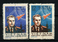 North Vietnam 1961 SG#N185-6, 2nd Manned Space Flight Used Set #D35490