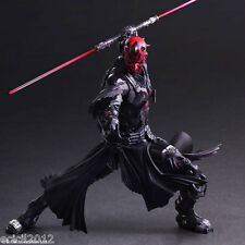 "New Star Wars Variant Play Arts Kai Darth Maul Action Figure Toys 10"" PVC Statue"