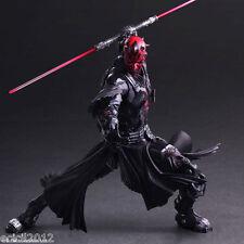 "Darth Maul Action Figure Star Wars Variant Play Arts Kai Toys 10"" PVC Statue"