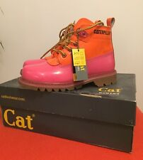 Womens Caterpillar Boots. Uk Size 5. Martine Rose Pink Limited Edition. In Box