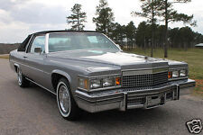 1979 Cadillac Coupe Deville, PHAETON, Refrigerator Magnet, 40 MIL THICK