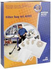 4 SAC ASPIRATEUR NILFISK ALTO 302002404 FILTER BAG SETAERO 20 25 Polystyrène