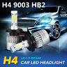 6000K H4 9003 HB2 3800LM Car Headlight LED Conversion Hi/Low Beam White Bulbs