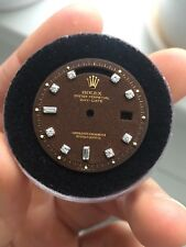 Vintage Rolex Day Date Brown Confetti Dial with Diamonds for 1803 Watch