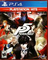 Persona 5 (Sony PlayStation 4, 2017) PS4 NEW