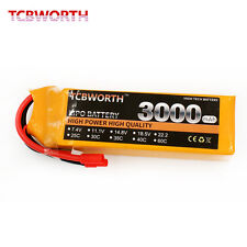 RC Drone Lipo battery 3S 11.1V 3000mAh 35C RC Airplane CX20 Helicopter XT60 T
