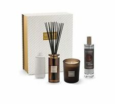 ESTEBAN Ebène Cuir Coffret Bouquet parfumé + recharge + spray +bougie