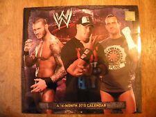 wwe calendar 2013 wrestling sealed unopened wwf wcw wrestler photos