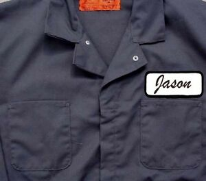 Jason Vorhees JUMPSUIT COVERALL Friday 13th Halloween Costume HI QUALITY