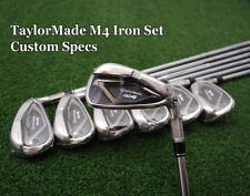 "TaylorMade M4 Iron Set Custom Build Plus +1/2"" 1º Up NSPro 840 Steel Regular NEW"