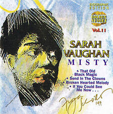 "CD SARAH VAUGHAN ""Misty"" Jazz New & OP 13 Tracks Cosmus DSB"