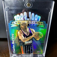 1997 TOPPS Generations Charles Barkley REFRACTOR Rockets Suns 76 Dream Team