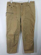 Kuhl Mens Khaki Hiking Pants Size 34x30 RN 108846