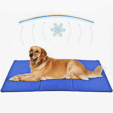 Gel Cooling Mat for Dogs and Cats Self-Cooling Dog Bed Summer Sleeping Gel Pad