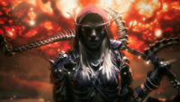 World of Warcraft Sylvanas Windrunner Warrior Wallpaper Poster 24 x 14 inches