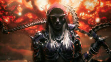 World of Warcraft Sylvanas Windrunner Warrior Wallpaper Poster 24 x 14 inches