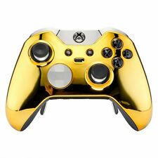 GOLD CHROME XBOX ONE ELITE MODDED RAPID FIRE CONTROLLER, BEST MODS / FAST SHIP!