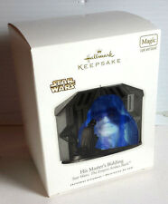 2010 Star Wars Emperor Hallmark Christmas Ornament w Lights/Sound-MIB  (LH-040)