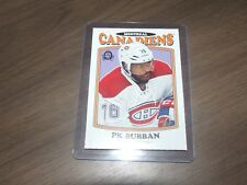 2016-17 OPC Box Bottom p.k subban