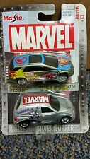 Marvel Maisto X2 #10 Cadillac Vizon Thor and Chryster Panel Cruiser Surfer NEW