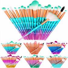 20stk Kosmetik Pinsel Brush Make Up Bürste Schminkpinsel Satz Pinselset Blusher