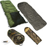 NGT Sleeping Bags For Carp Fishing Beds Camping - 5 Seasons 3/4 Seasons or Camo