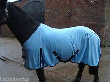 Knight rider 5 pieds 9 pouces couverture Polaire Cheval / tapis en bleu clair