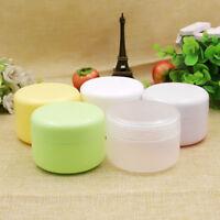 5 Pcs Empty Makeup Jar Pot Travel Face Cream/Lotion/Cosmetic Bottle Containers